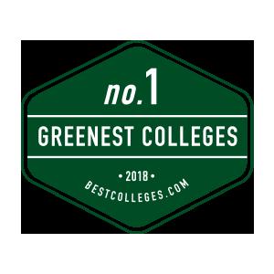 Number 1 Greenest Colleges