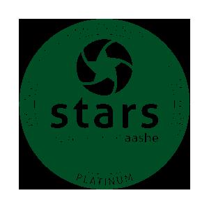 FIRST INSTITUTION IN THE WORLD TO ACHIEVE STARS PLATINUM